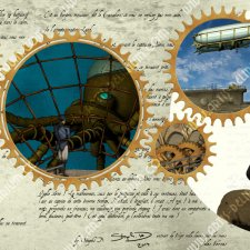 Goodies-Steampunk-Jules-Verne_Mug_image